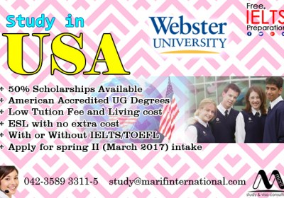 Apply study visa of USA