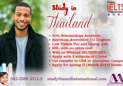 Study in Thailand