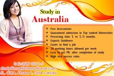 Study in Australia in top Ranked Universities