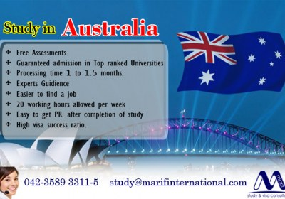 Study Australia in Top Ranked Universities