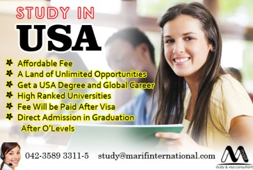Study in USA in Top Ranked Universities