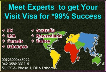 Apply Visit Visa through us!