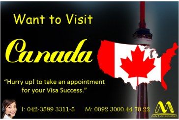 Apply Canada Visit Visa Through our Experts
