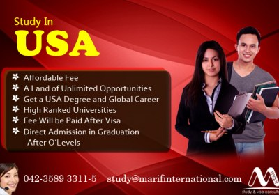USA Student Visa in Top Ranked Universities