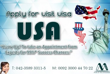 USA Visit visa Through our Experts