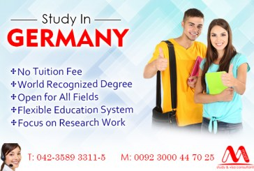 Hurry Up! Study in Germany