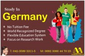 Study in Germany in ranked universities
