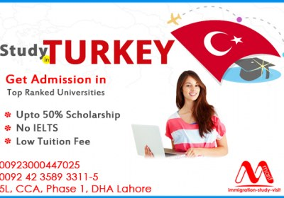 Get up to 50% scholarship in top ranked universities in Turkey