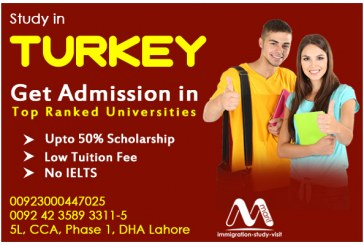 Study in Turkey in Ranked Universities