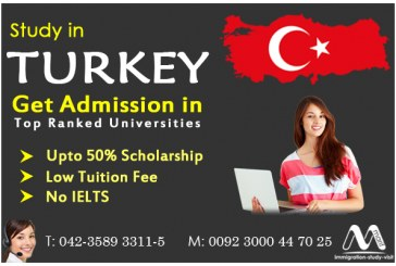 Study in top ranked universities in Turkey