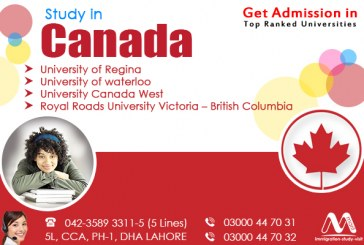 Apply for Canada Study Visa from Pakistan