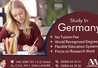 Apply Germany study visa