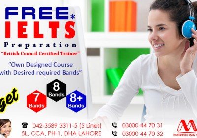 IELTS Preparation in Best institute in DHA Lahore