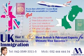 UK Tier 1 Business Immigration Visa