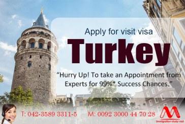 Apply for Turkey visit visa