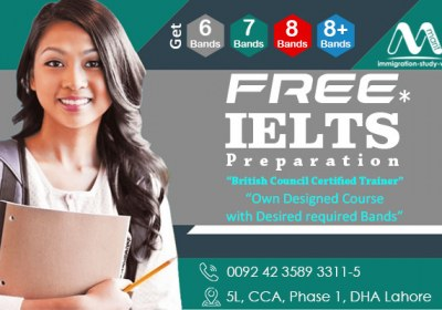 IELTS preparation Best Institute in DHA Lahore