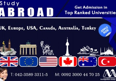 Study Abroad in top ranked universities
