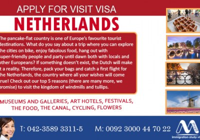 Holland Visit Visa