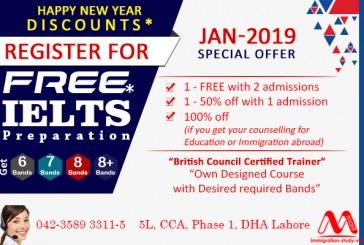 Get Free IELTS Preparation