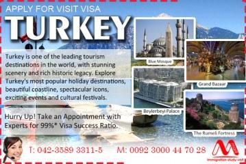 Turkey Visit Visa