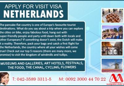 Netherlands Visit Visa