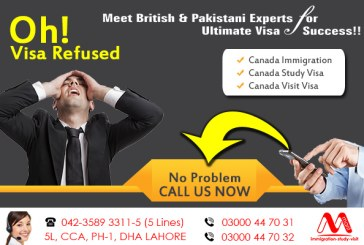 Canada Refusal Visa
