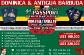 Passport of Dominica by Donation or Investment