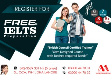 BEST IELTS TRAINING CENTER IN LAHORE.