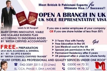 UK Sole Representative Visa