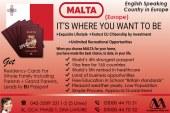 Get Malta Immigration Through Our British Experts