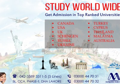 Apply Worldwide Study Visa Through Our Experts..