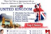 Apply Study Visa of UK in Top Ranked Universities