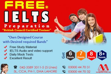Get High Level Free IELTS Preparation From Lahore Pakistan