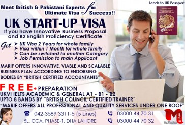 Get UK Start Up Visa through our Experts
