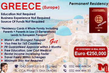 Get Greece Citizenship by Investment..