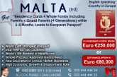 Apply Malta Residency..