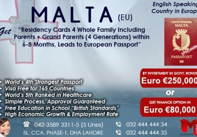 Get Malta Residency..