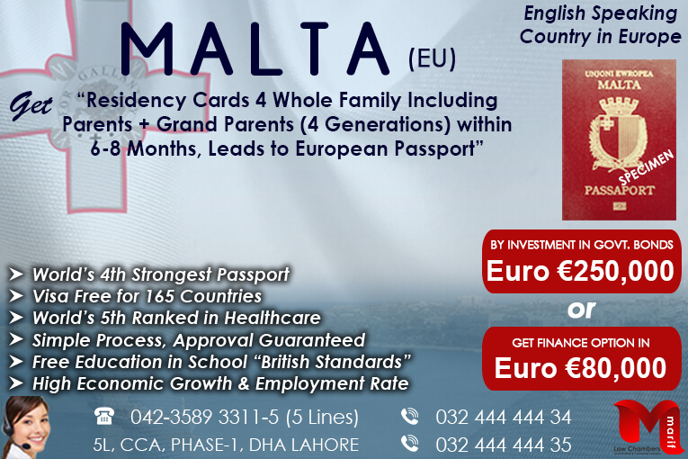 malta immigration, malta citizenship, citizenship by investment,