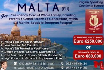 Get Malta Nationality..