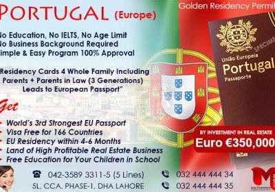 Get Portugal Residency..