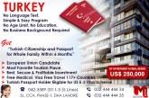 Get Turkey Passport…