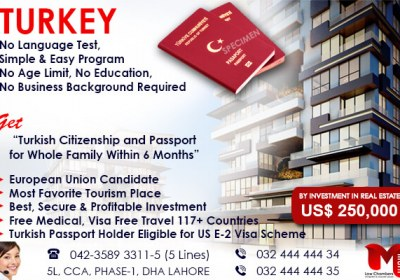Get Turkey Passport…