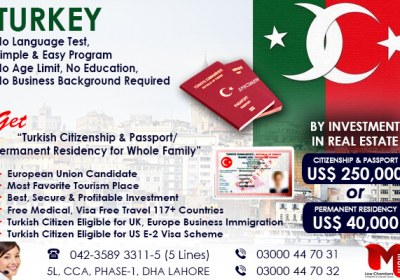 Get Turkey Residence Permit through Investment
