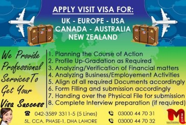 Apply Worldwide Visit Visa through our Best Experts..
