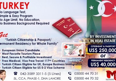 Apply Turkey Residency..