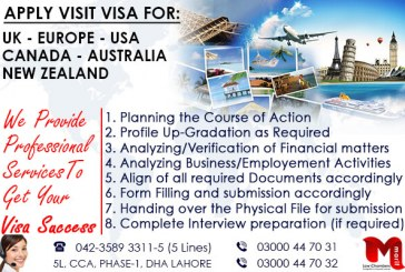 Worldwide Visit Visa…..