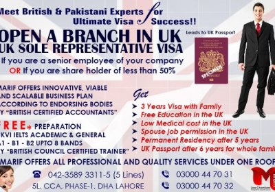 Open A Branch in UK…