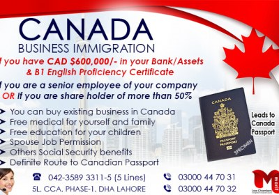 Apply Canada Business Immigration…