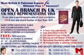 Open A Branch In UK….