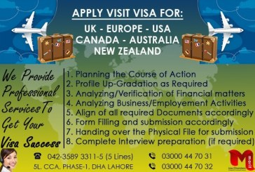Best Visit Visa Experts In DHA Phase 1 Lahore